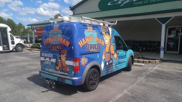 Vehicle Wrap Cincinnati, Vehicle Wrap Dayton