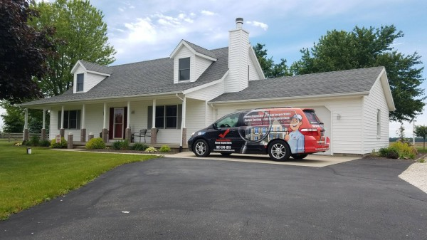 Vehicle Wrap, Van Wrap, cincinnati, dayton