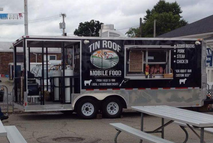 Food Trailer Vinyl Wrap Cincinnati