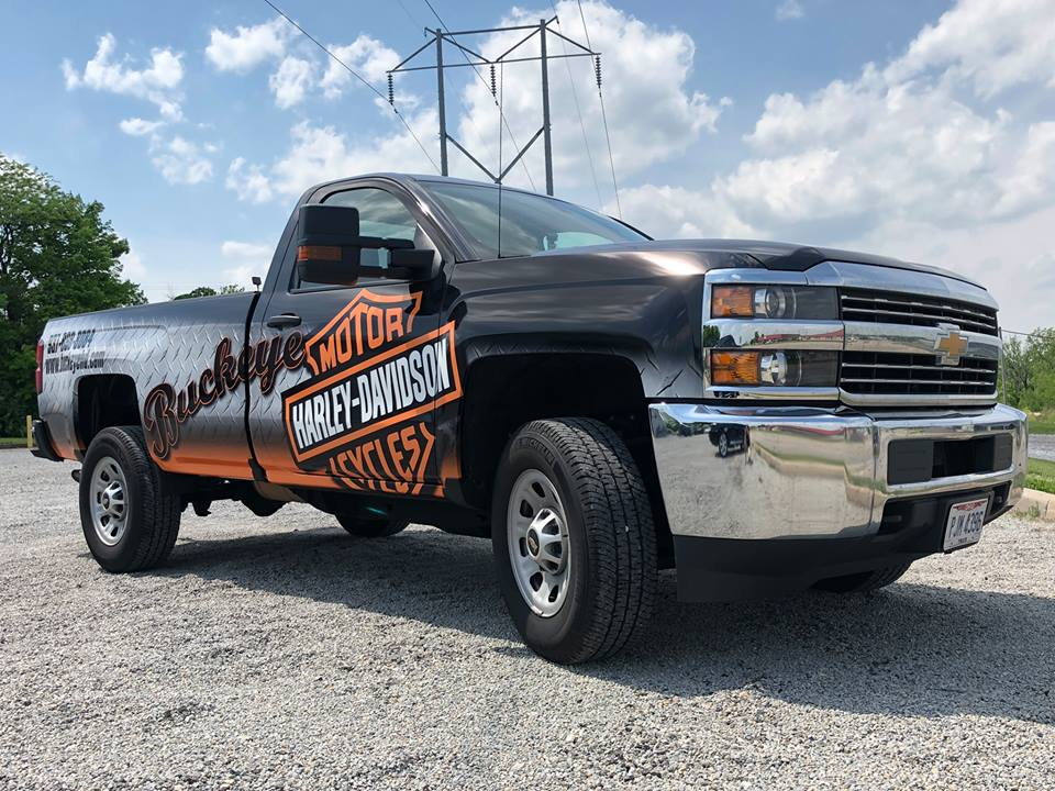 Vinyl Vehicle Wrap Dayton