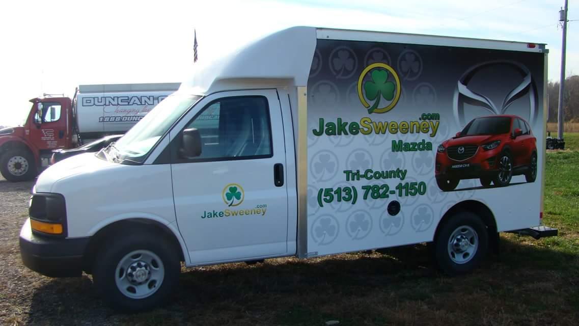 Box Truck Wrap Dayton