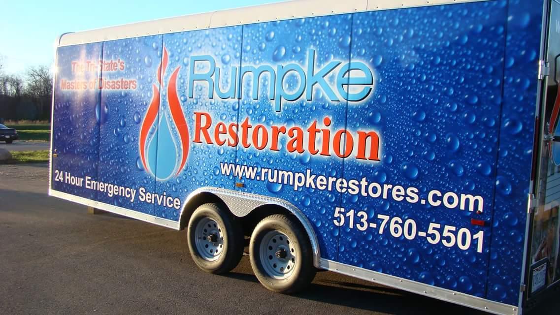Trailer Vehicle Wrap Cincinnati