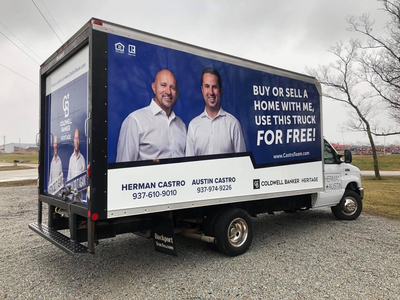 Box Truck Wrap Dayton Ohio