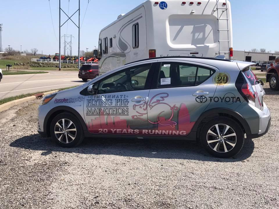 Prius Vehicle Wrap